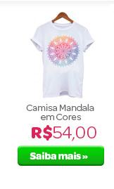Camisa Mandala em Cores